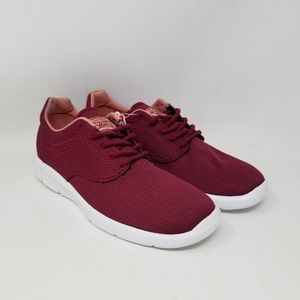 Vans Iso 1.5 Mesh Beet Red Sneakers Men's Size 6